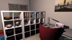 Raumgestaltung Melanie_1_Zimmer_Appartment in der Kategorie Wohnzimmer