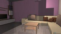 Raumgestaltung Mellawohnung-Wohnzimmer in der Kategorie Wohnzimmer