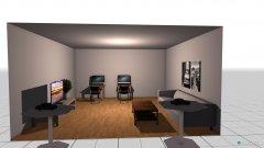 Raumgestaltung Messestand in der Kategorie Wohnzimmer
