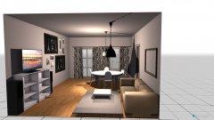 Raumgestaltung mielec in der Kategorie Wohnzimmer