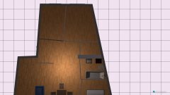 Raumgestaltung mieszkanie salon duży in der Kategorie Wohnzimmer