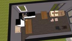 Raumgestaltung Mieszkanie in der Kategorie Wohnzimmer