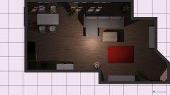 Raumgestaltung Mietwohnung in der Kategorie Wohnzimmer