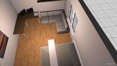 Raumgestaltung Mikis Wohnzimmer in der Kategorie Wohnzimmer