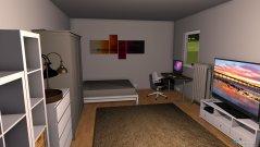 Raumgestaltung Mini Wohnung 1 in der Kategorie Wohnzimmer