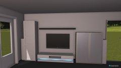 Raumgestaltung mit Hängboard in der Kategorie Wohnzimmer