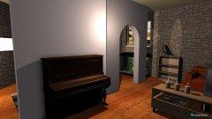 Raumgestaltung Mittelalterraum in der Kategorie Wohnzimmer