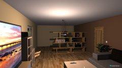 Raumgestaltung Mittelzimmer Wohnzimmer in der Kategorie Wohnzimmer