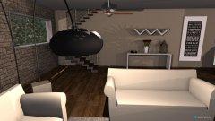 Raumgestaltung Modern livingroom in der Kategorie Wohnzimmer