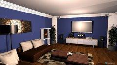 Raumgestaltung moderna in der Kategorie Wohnzimmer