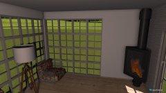 Raumgestaltung modernes Wohnzimmer 2 in der Kategorie Wohnzimmer