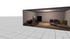 Raumgestaltung möblierung in der Kategorie Wohnzimmer