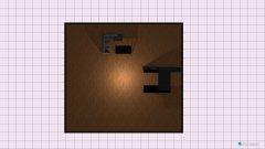 Raumgestaltung moja ideja prizemlje in der Kategorie Wohnzimmer