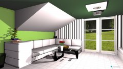 Raumgestaltung moja izba 1 in der Kategorie Wohnzimmer