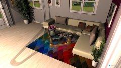 Raumgestaltung Monika Kocham Bardzo in der Kategorie Wohnzimmer