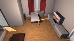 Raumgestaltung Monis Wohnszimmer in der Kategorie Wohnzimmer