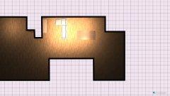 Raumgestaltung Moonbeam in der Kategorie Wohnzimmer