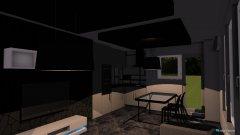 Raumgestaltung Moq Apartament Vsekidnevna in der Kategorie Wohnzimmer