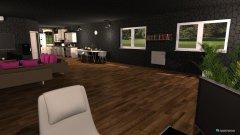 Raumgestaltung Multimedia Wohnzimmer in der Kategorie Wohnzimmer