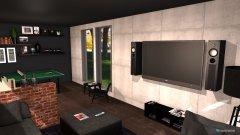 Raumgestaltung muzska izba in der Kategorie Wohnzimmer