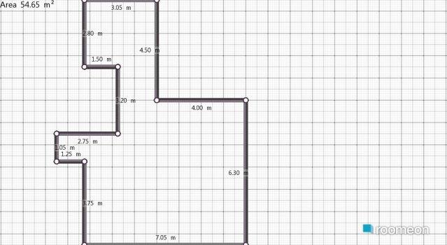 Raumgestaltung my home in der Kategorie Wohnzimmer