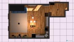 Raumgestaltung Nappali+Konyha in der Kategorie Wohnzimmer