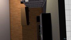 Raumgestaltung nappali, konyha in der Kategorie Wohnzimmer