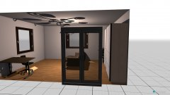Raumgestaltung nappali_ajtokkal_uresen in der Kategorie Wohnzimmer
