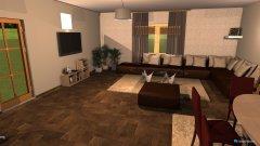 Raumgestaltung nas buduci dnevni boravak in der Kategorie Wohnzimmer