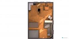 Raumgestaltung Nelkenweg 7 (möbliert, 3. Entwurf) in der Kategorie Wohnzimmer