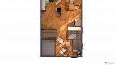 Raumgestaltung Nelkenweg 7 (möbliert, 5. Entwurf) in der Kategorie Wohnzimmer
