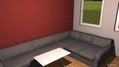 Raumgestaltung neue Couch in der Kategorie Wohnzimmer