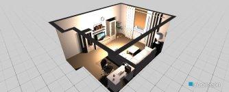 Raumgestaltung neue stube in der Kategorie Wohnzimmer