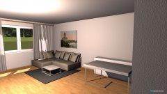 Raumgestaltung neue wohnung 5d in der Kategorie Wohnzimmer