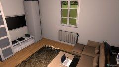 Raumgestaltung neuer Fernseher in der Kategorie Wohnzimmer