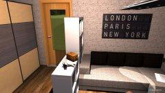 Raumgestaltung New york Zimmer in der Kategorie Wohnzimmer