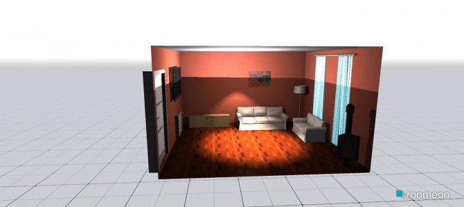 Raumgestaltung nives in der Kategorie Wohnzimmer
