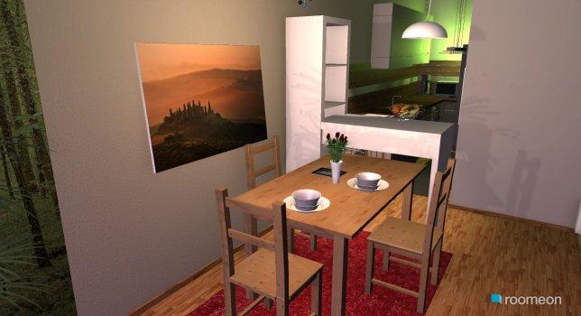 Raumgestaltung novy byt 4 in der Kategorie Wohnzimmer