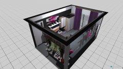 Raumgestaltung Obývačka in der Kategorie Wohnzimmer