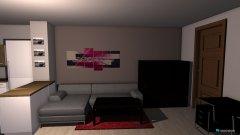 Raumgestaltung Obývací pokoj II. in der Kategorie Wohnzimmer