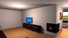 Raumgestaltung Objekt 2 in der Kategorie Wohnzimmer