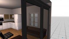 Raumgestaltung odelzhausen wohnküche1 in der Kategorie Wohnzimmer