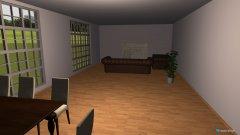 Raumgestaltung Offener WOhnbereich in der Kategorie Wohnzimmer