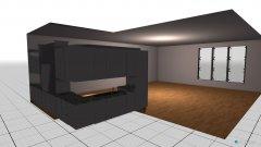 Raumgestaltung Offenes Wohnen in der Kategorie Wohnzimmer