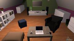 Raumgestaltung OG Wohnstube in der Kategorie Wohnzimmer