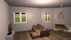 Raumgestaltung Olohuone Kaarle in der Kategorie Wohnzimmer