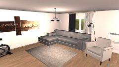 Raumgestaltung Omas Wohnzimmer 1 in der Kategorie Wohnzimmer