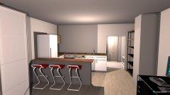 Raumgestaltung Opa Wohnung renoviert in der Kategorie Wohnzimmer