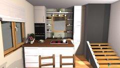 Raumgestaltung open floor plan in der Kategorie Wohnzimmer