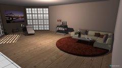 Raumgestaltung orange in der Kategorie Wohnzimmer